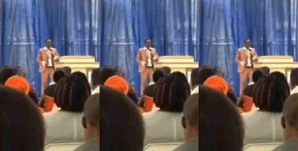 Pastor asks congregation