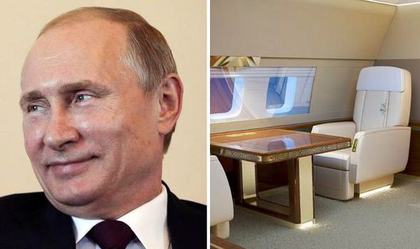 russian president private jet