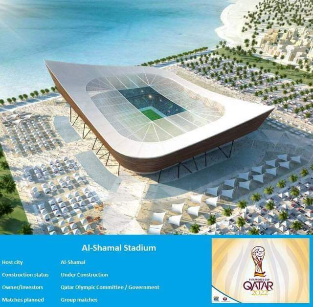 Qatar 2022: Checkout Photos of the Stadiums to expect at the next FIFA world cup