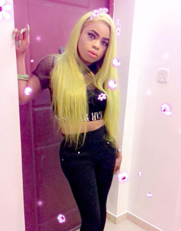 Bobrisky vows to stab lady who threatened him over use of female toilet