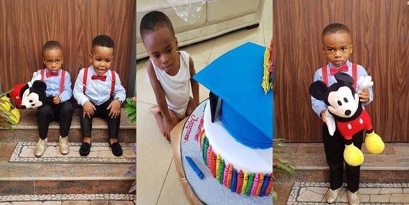 Tonto Dikeh celebrates son