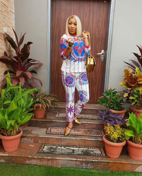 Tonto Dikeh celebrates her son as he graduates from play group to pre-nursery class (Photos)