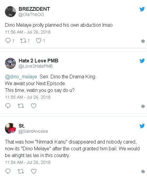 Dino Melayes kidnap