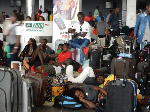 African Athletes stranded in Lagos Airport ahead of competition in Asaba