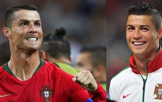 Cristiano Ronaldo gets