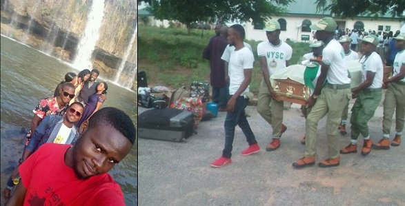 9 corps members drown in Taraba river after taking selfie together