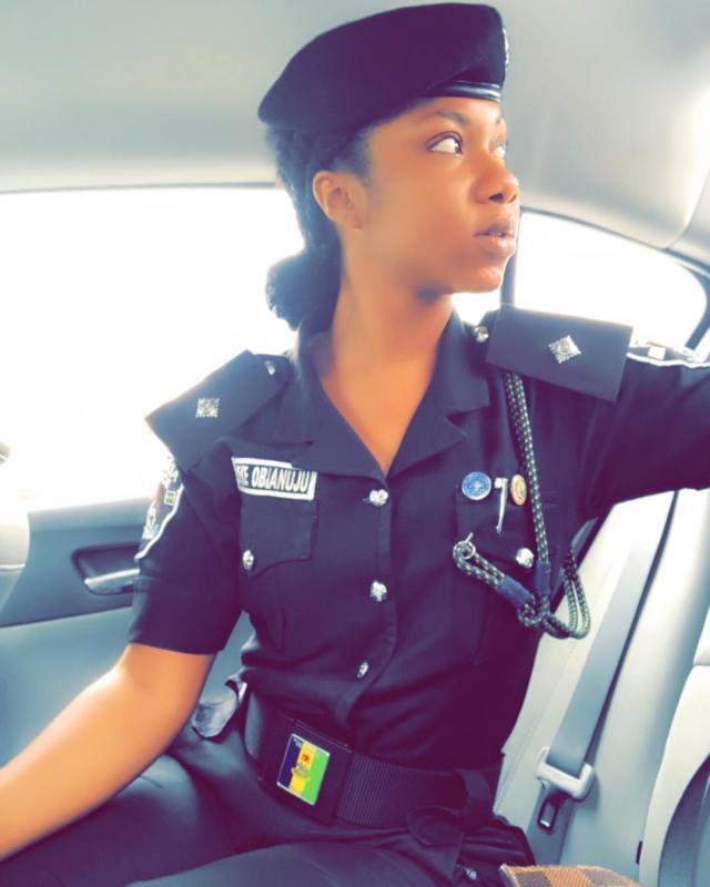 Nigeria's most beautiful Policewoman