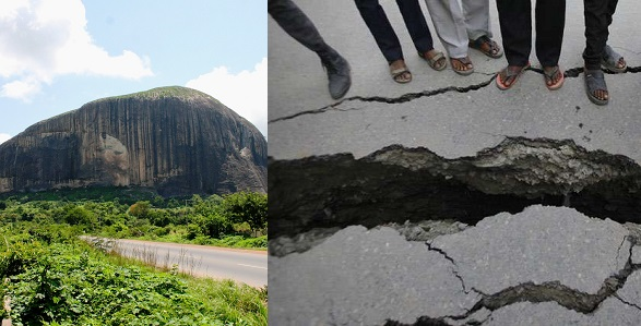 Image result for Earthquake likely to occur in Abuja, Kaduna, Ogun, Oyo, Bayelsa – NASRDA