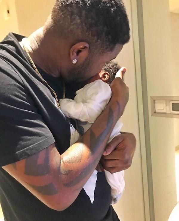 BNaira welcomes baby boy
