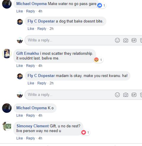 Bitter ex-girlfriend threatens