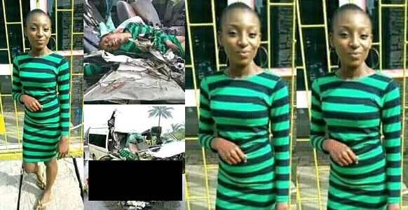 Image result for Photo of female ABSU student moments before she died in a fatal accident