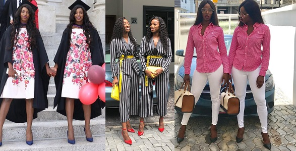 Image result for Meet gorgeous Nigerian identical twin sisters that wear the same outfit everyday (Photos)