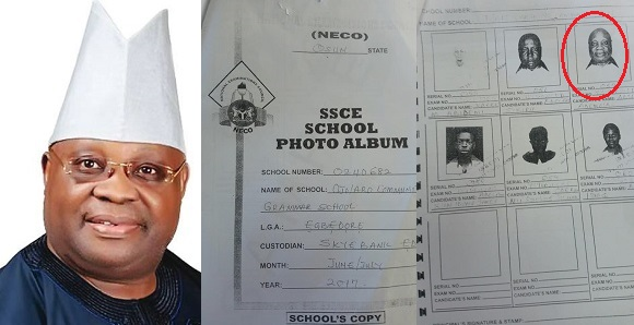Image result for Exam Malpractice; Police Release 'Evidence' Against Senator Adeleke.