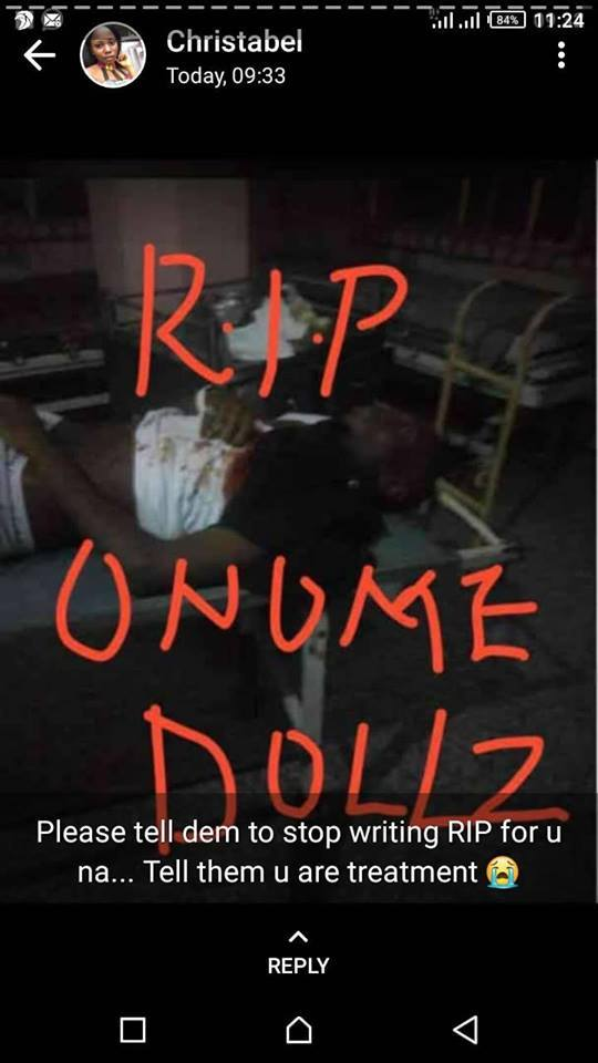 Onome pounds assassinated
