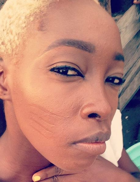Nigerian model with tribal marks finally gets response from Rihanna