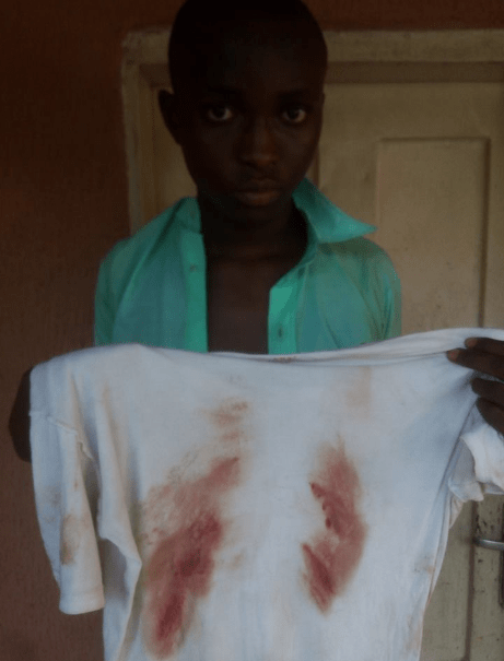 Soldiers allegedly brutalise student
