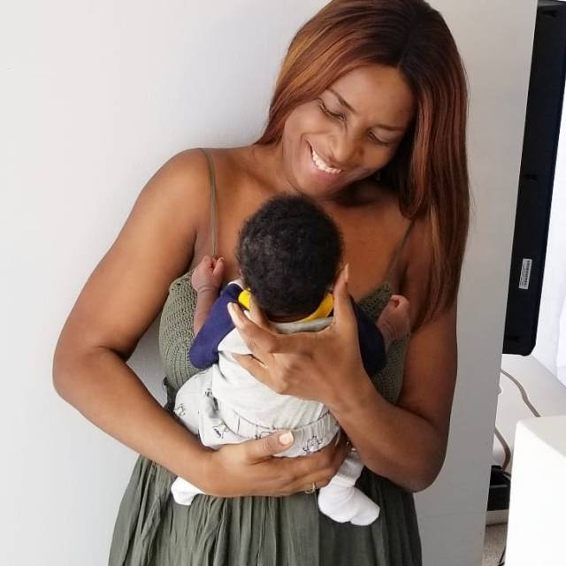 Adorable photo of Linda Ikeji