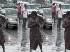 Mentally challenged beggar arrested