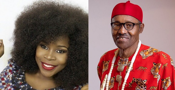 Image result for Singer, Omawumi calls President Buhari an 'incompetent old man' (VIDEO)
