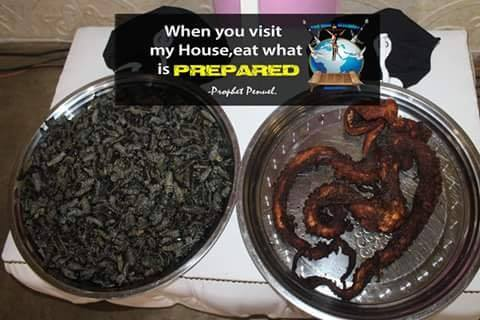 Penuel Mnguni dogs and frogs4 - Snake pastor feeds congregation dog meat and frogs to heal HIV and cancer
