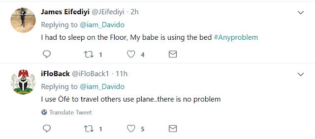 Twitter users mock Davido
