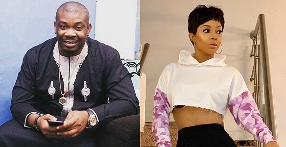 Image result for Don Jazzy replies perverted troll who said he has finally 'knacked' Toke Makinwa