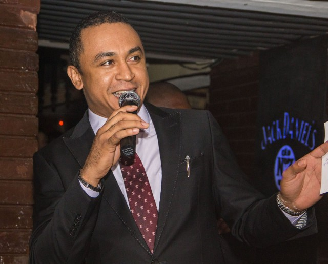 Image result for See how Daddy Freeze wished Pastor Adeboye's son, Leke happy birthday