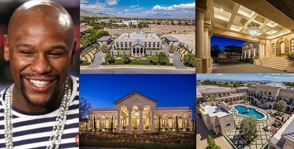 Image result for Inside Floyd Mayweather's new $10 million mansion in Las Vegas desert