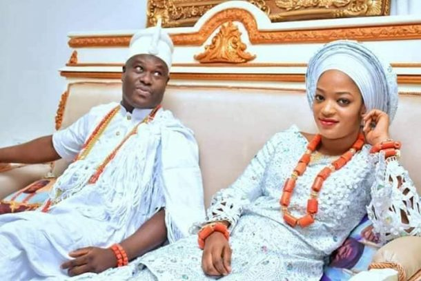 Image result for Ooni Of Ife reportedly gifts Queen Naomi a mansion and 2 luxurious cars