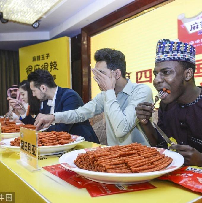 Nigerian man wins spicy food challenge