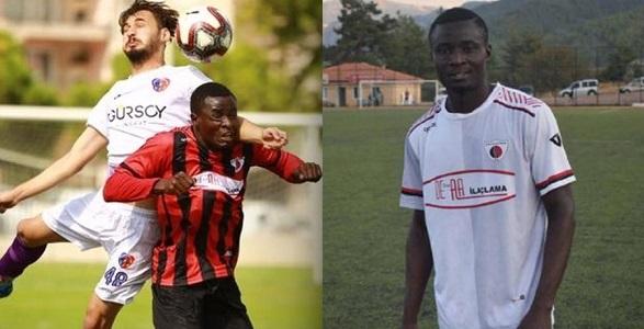 Image result for Nigerian footballer dies of heart attack during match in Turkey