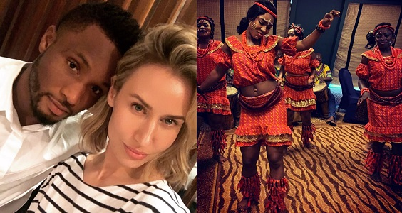 Image result for Mikel Obi's Russian partner reveals what she thinks about Nigerian women.