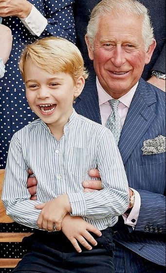 Prince Charles pictured