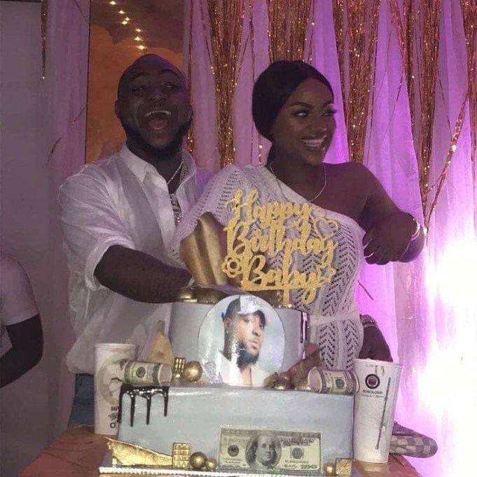 Photos from Davido's all white birthday party