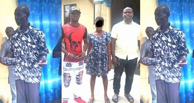 Image result for 74-year-old man allegedly rapes 14-year-old girl in Warri.
