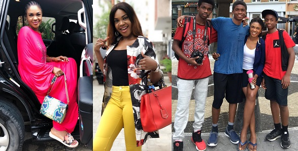 """Image result for """"I was raised by a single mother yet look how I turned out"""" – Omoni Oboli encourages single mothers."""