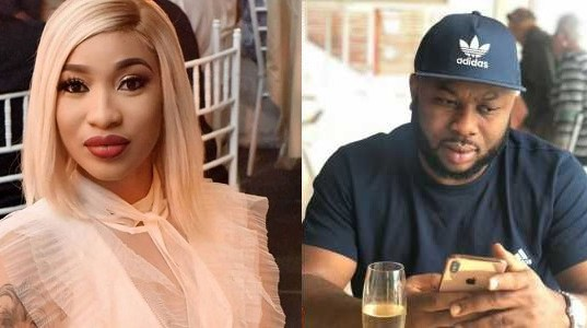 Image result for B**tch don't support me — Nollywood Actress Tonto Dikeh slams ex-husband again