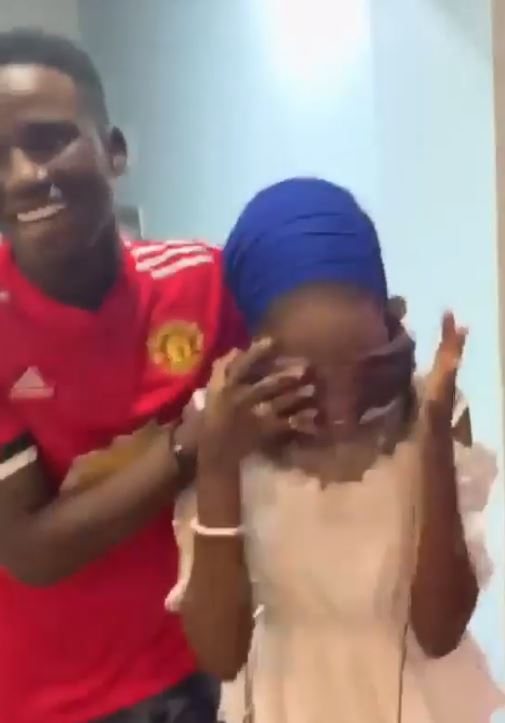 100 level student buys Benz for his 16-year-old SS3 Girlfriend, an iPhone X Max, iWatch, in Abuja for her birthday