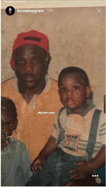 Epic throwback photos of Burna Boy from his childhood days