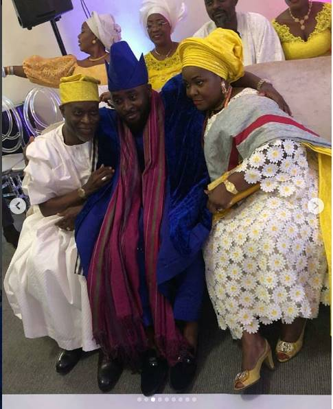 First photos from the wedding of OAP Gbemi