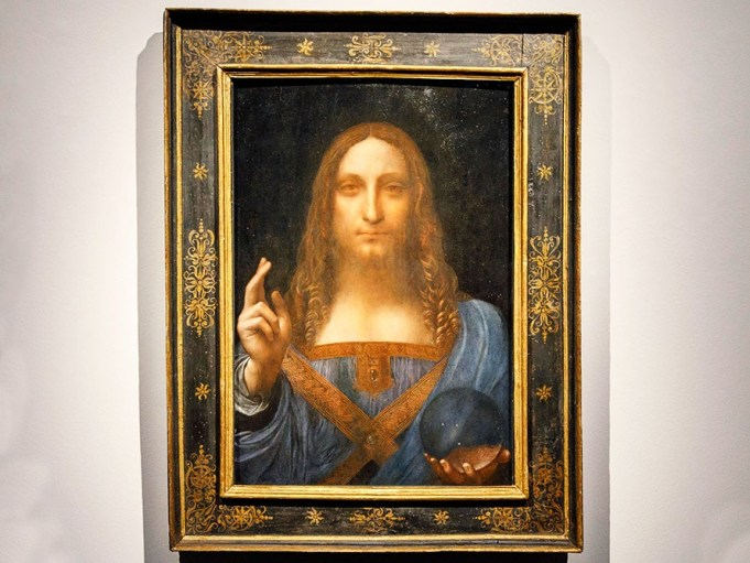 World's most expensive painting by Da Vinci 'goes missing'.