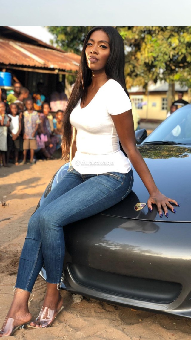 "Check out B.T.S Photos from Tiwa Savage's ""One"" Shoot"