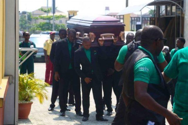 Tosyn Bucknor's Burial, tosyn bucknor burial. tosyn bucknors burial