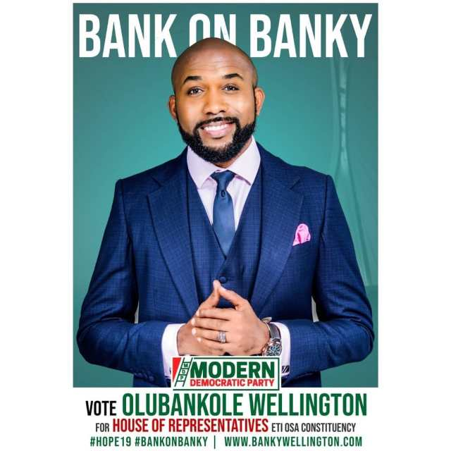 Banky W's campaign posters