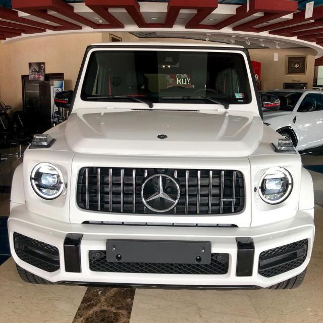 Mompha buys 2019 G-Wagon