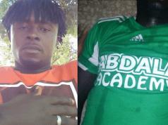 Nigerian footballer slumps