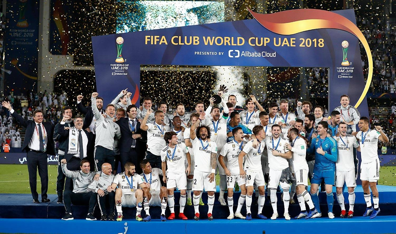 Real Madrid are Club World Cup champions for the third ...