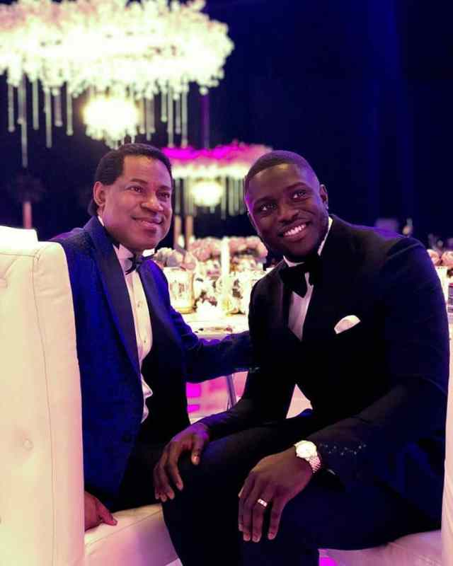 Photos From Pastor Chris Oyakhilome's 55th Astronaut-Themed