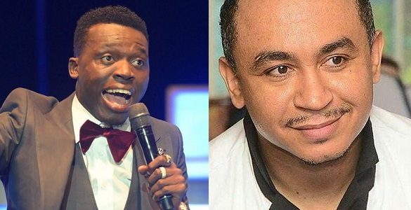 """Image result for Akpororo replies Daddy Freeze: """"How many church has fallen since you stopped paying tithes?"""""""