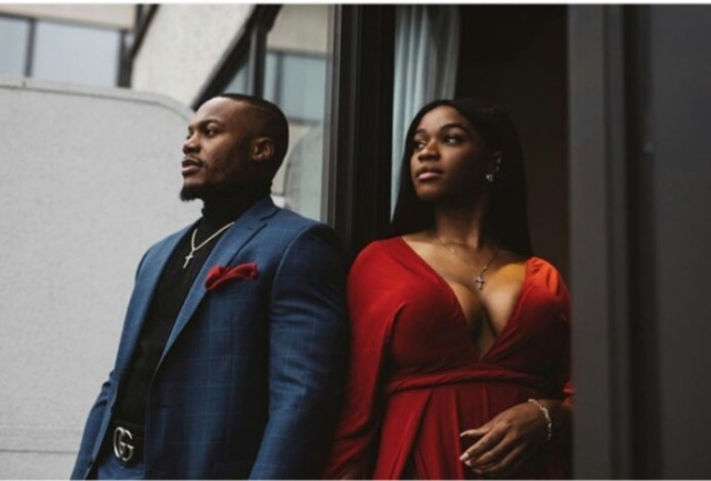 This Couple's pre-wedding photos causes serious reactions on social media (Photos)